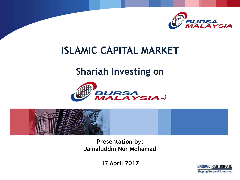 Shariah Investing on Bursa Malaysia-i