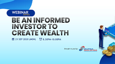Be an Informed Investor to Create Wealth